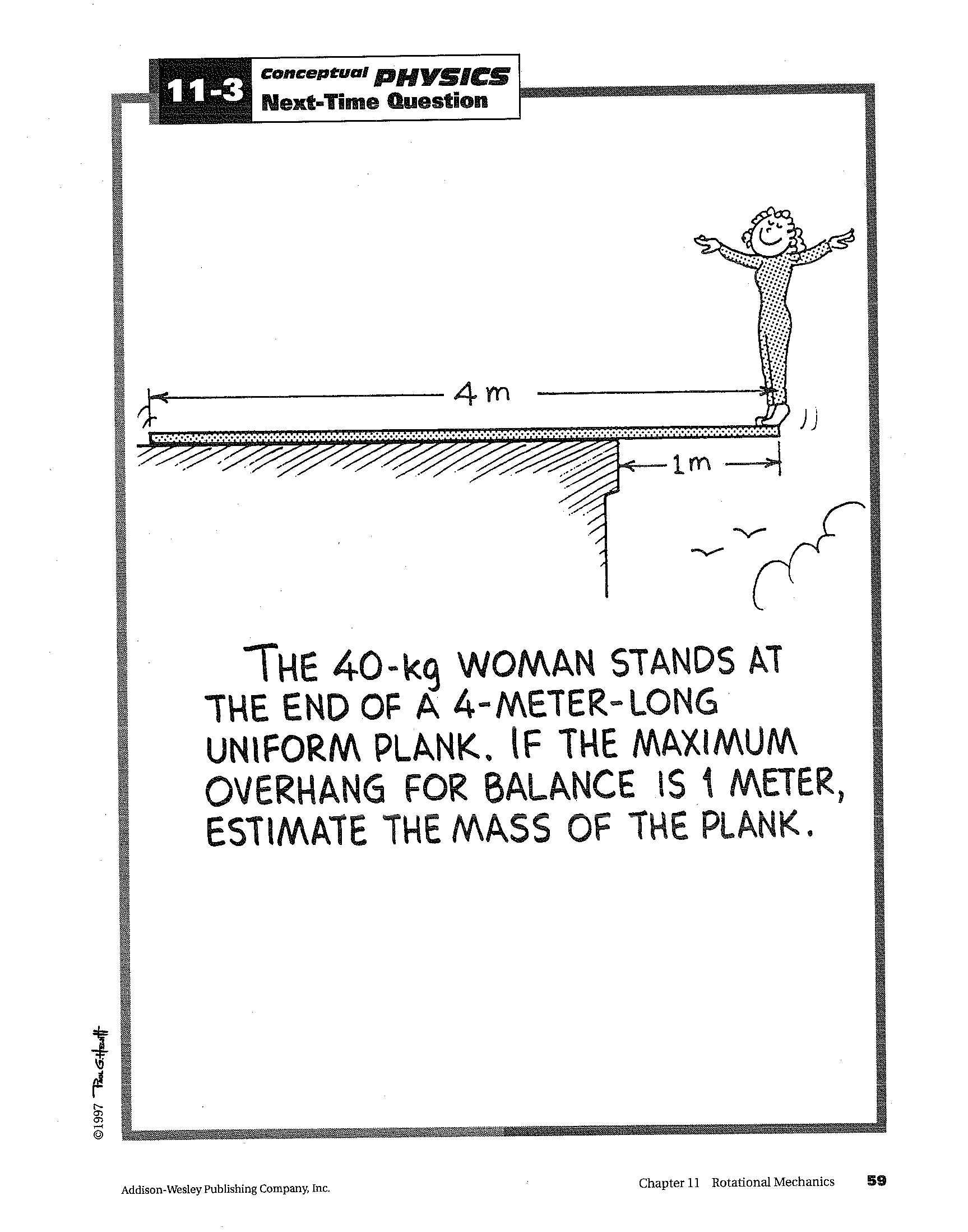 Wandplank 1 Meter.Physics Questions Blog